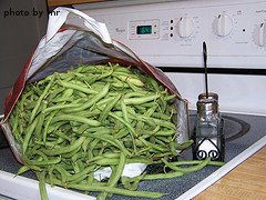 Bag Of Green Beans
